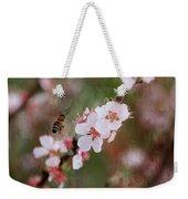 The Bee In The Cherry Tree Weekender Tote Bag