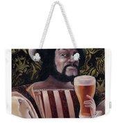 The Beer Drinker Weekender Tote Bag