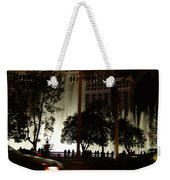 The Bellagio At Night Weekender Tote Bag