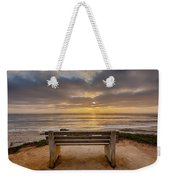 The Bench Iv Weekender Tote Bag