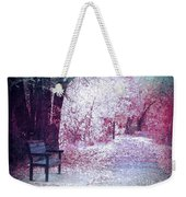 The Bench Of Promises Weekender Tote Bag