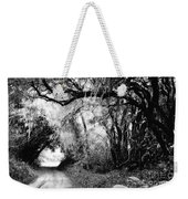 The Bend In The Road Bw Weekender Tote Bag