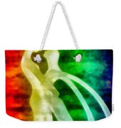 The Benediction Of The Neon Light Weekender Tote Bag