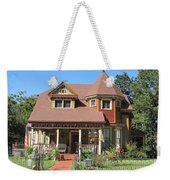 The Benefield House Jefferson Texas Weekender Tote Bag
