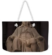 The Benjamin Franklin Statue Weekender Tote Bag