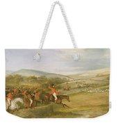 The Berkeley Hunt, Full Cry, 1842 Weekender Tote Bag
