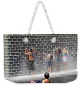 The Best Little Water Park In Chicago Weekender Tote Bag