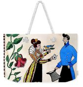 The Betrothal-folk Art Weekender Tote Bag