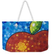 The Big Apple - Red Apple By Sharon Cummings Weekender Tote Bag