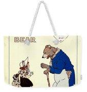 The Big Brown Bear Weekender Tote Bag