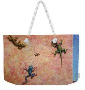The Big Fly Weekender Tote Bag by James W Johnson