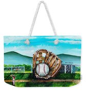 The Big Leagues Weekender Tote Bag by Shana Rowe Jackson
