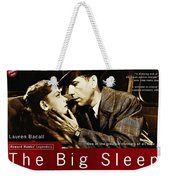 The Big Sleep  Weekender Tote Bag