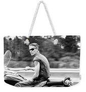The Biker Weekender Tote Bag