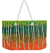 The Birches Weekender Tote Bag