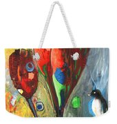 The Bird And The Tulips Weekender Tote Bag