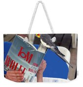 The Bird Brain Weekender Tote Bag