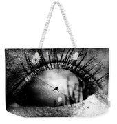 The Bird On The Wire  Weekender Tote Bag