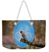 The Bird Without A Bike Weekender Tote Bag