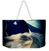 The Birdbath Corner Weekender Tote Bag