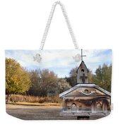 The Birdhouse Kingdom - American Kestrel Weekender Tote Bag
