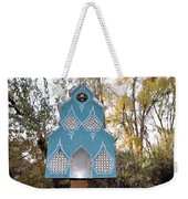 The Birdhouse Kingdom - Black-capped Chickadee Weekender Tote Bag