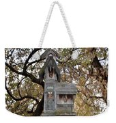 The Birdhouse Kingdom - Black-headed Grosbeak Weekender Tote Bag
