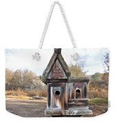 The Birdhouse Kingdom - Cedar Waxing Weekender Tote Bag