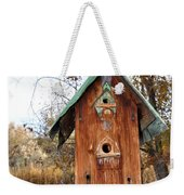 The Birdhouse Kingdom - Spotted Towhee Weekender Tote Bag