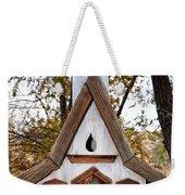 The Birdhouse Kingdom - Steller's Jay Weekender Tote Bag