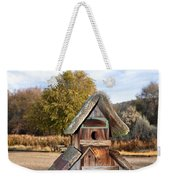 The Birdhouse Kingdom - The American Dipper Weekender Tote Bag
