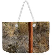 The Birdhouse Kingdom - The Black Bird Weekender Tote Bag