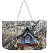 The Birdhouse Kingdom - The Cordilleran Flycatcher Weekender Tote Bag