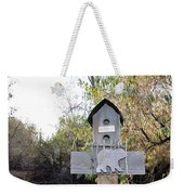 The Birdhouse Kingdom - The Loggerhead Shrike Weekender Tote Bag