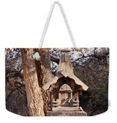 The Birdhouse Kingdom - The Orange-crowned Warbler Weekender Tote Bag
