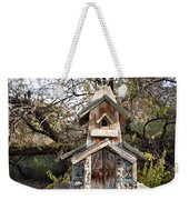 The Birdhouse Kingdom - The Red Crossbill Weekender Tote Bag