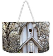 The Birdhouse Kingdom - The Western Wood-pewkk Weekender Tote Bag