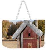 The Birdhouse Kingdom - Western Bluebird Weekender Tote Bag