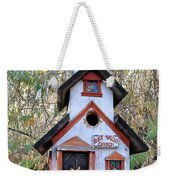 The Birdhouse Kingdom -the Pygmy Nuthatch Weekender Tote Bag