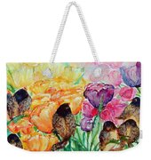 The Birds Of Spring Shower Blessings On You Weekender Tote Bag