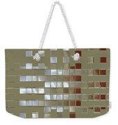 The Birth Of Squares No 1 Weekender Tote Bag by Ben and Raisa Gertsberg