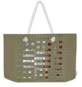 The Birth Of Squares No 1 Weekender Tote Bag