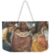 The Birth Of The Virgin Weekender Tote Bag