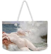 The Birth Of Venus Weekender Tote Bag by Henri Gervex
