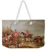 The Birton Hunt Weekender Tote Bag by John E Ferneley