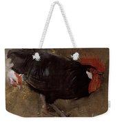 The Black Cock Weekender Tote Bag