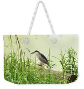 The Black-crowned Night Heron Weekender Tote Bag