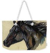 The Black Horse Weekender Tote Bag