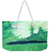 The Black Lake Weekender Tote Bag