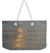 The Black Sea In A Swath Of Gold Weekender Tote Bag